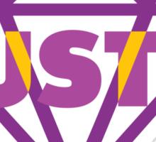 Purple Diamond Hustle Sticker