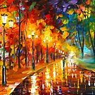 ALLEY OF THE MEMORIES by Leonid  Afremov