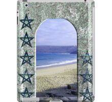 Cornish Tarot - Nine of Pentacles iPad Case/Skin