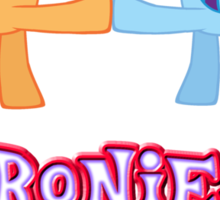 Bronies Forever (No Heart) 5 Sticker