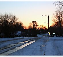 'THE SNOW DAY ENDS' by Jerry Kirk