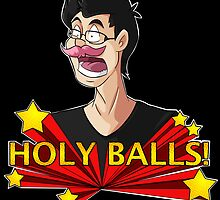Markiplier - Holy Balls! by 8BitSpirit