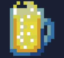 Pixel Art Beer Glass by beerhamster