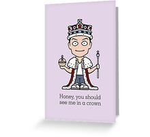 Jim Moriarty (card) Greeting Card