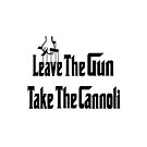 Leave The Gun Take The Cannoli iPad Case by Linda Allan