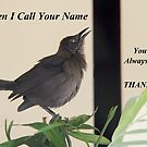 When I Call Your Name... by Polly Peacock