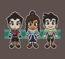 Legend of Korra - The Fire Ferrets Pixels by geekmythology