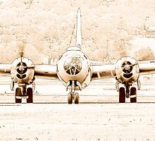 B-29 FIFI (Line Art) by cadman101