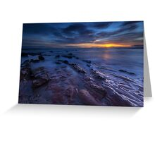 Seacliff Beach at Sunrise Greeting Card
