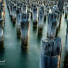 Princes Pier, Port Melbourne by James Millward