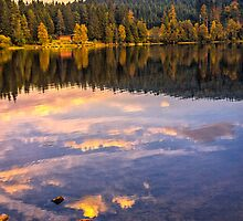Sunset in the Black Forest by Bernd F. Laeschke
