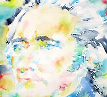 ALEXANDER HAMILTON - watercolor portrait by lautir
