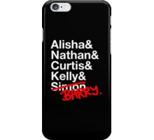 Alisha & Nathan & Curtis & Kelly & Simon from Misfits iPhone Case/Skin