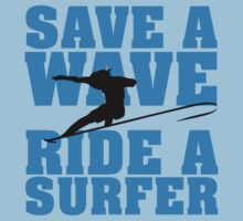 Save a wave, ride a Surfer by nektarinchen