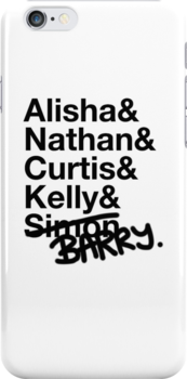 Alisha & Nathan & Curtis & Kelly & Simon from Misfits by yeahshirts