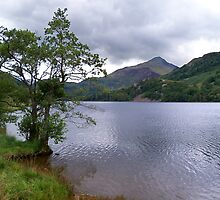 A Lake in Snowdonia by hootonles