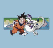 Family Guy Z - Goketer VS Cheeza Kids Clothes