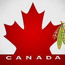 Blackhawks Team Canada Poster Alternate by fohkat