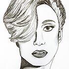 Lady Gaga Portrait by PatiDesigns