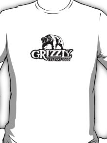 Grizzly Smokeless Taobacco T-Shirt