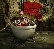 Bath Time For Zombie by Liam Liberty