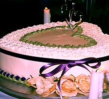 Wedding cake by ♥⊱ B. Randi Bailey