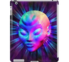 Psychedelic Alien Meditation iPad Case/Skin