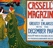 Advertisement for Cassell's Magazine by Bridgeman Art Library
