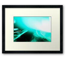 Turquoise Jam Framed Print