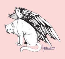 Winged Cat by Mystikitten