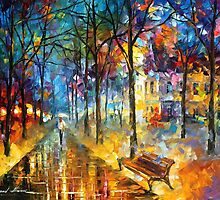 COLORS OF MY PAST by Leonid  Afremov