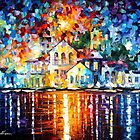 SLEEPY HARBOR by Leonid  Afremov