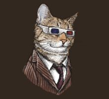 10th Doctor Mew 3D Glasses by Jenny Parks