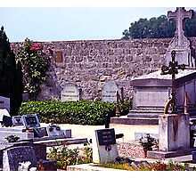 Last Resting Place of Vincent Van Gogh, France. Photographic Print