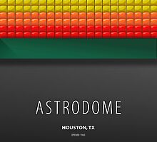 Minimalist Astrodome - Houston, TX by pootpoot