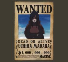 Wanted Poster Madara by BadrHoussni