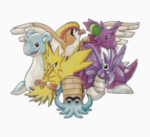 Go Dream Team! | Twitch Plays Pokemon by abowersock