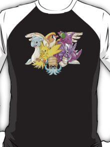 Go Dream Team!   Twitch Plays Pokemon T-Shirt