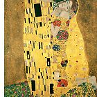 Klimt's The Kiss by trilac