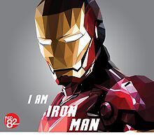 Iron Man Triangulation Vector by Red82Creative