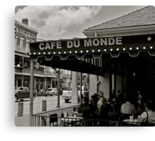 Cafe Du Monde Canvas Print