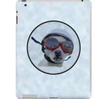 Chihuahua and the Bike Safety Message iPad Case/Skin