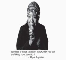 Maya Angelou by BlackMatters