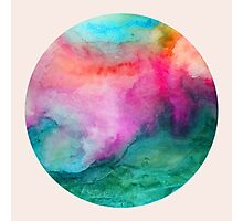 Staring at The Ceiling - Abstract Watercolor Photographic Print