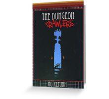 Dungeon Crawler Greeting Card