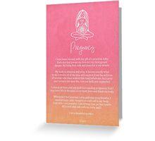 Affirmation - Pregnancy Greeting Card