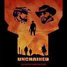 Django Unchained Alternative Movie Poster by SFDesignstudio