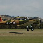 Chipmunk Take-off @ Barossa Airshow, Australia 2011 by muz2142