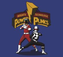 Mighty Technologic Power Punks by LgndryPhoenix