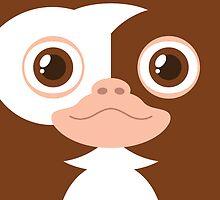 Gremlins Minimalist Series - Gizmo by mistergamma